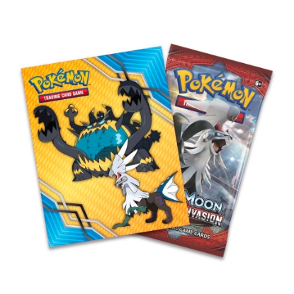 Picture of Pokemon Sun and Moon: Crimson Invasion Mini Portfolio & Booster Pack