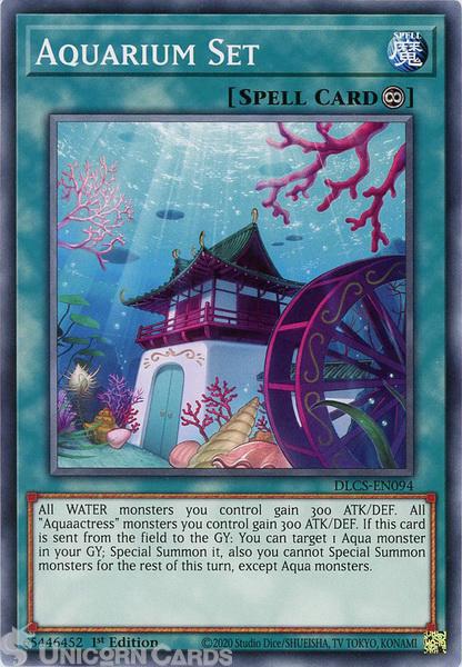 Picture of DLCS-EN094 Aquarium Set Common 1st Edition Mint YuGiOh Card
