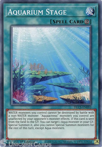 Picture of DLCS-EN093 Aquarium Stage Common 1st Edition Mint YuGiOh Card