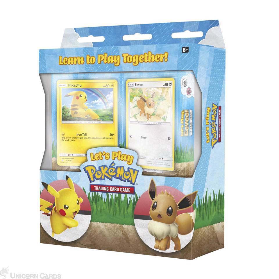 Pokemon Let/'s Play Eevee Theme DeckNew /& SealedTrading Card Game TCG Cards